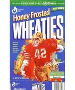 ronnie lott wheaties cereal box leroy neiman art nfl football san franci... - $9.99