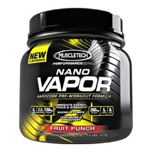 MuscleTech Nano Vapor Performance Series, 1.1 lb Fruit Punch - $119.00