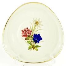 Vintage 1950s Johann Seltmann Vohenstrauss Rounded Triangle Shaped Plate... - $16.57