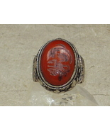 ANTIQUE RING 1 IFRIT KING DJINN JINN GENIE DEM... - $1,799.10