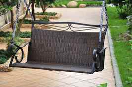 Metal Patio Porch Swing - $349.98