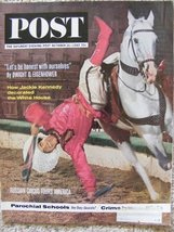 The Saturday Evening Post October 26, 1963 [Paperback] [Jan 01, 1963] - $12.58