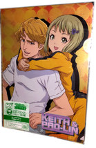 "Tiger & Bunny ""Sky High & Dragon Kid"" Set of Two Anikuji Anime Clear Files - $12.88"