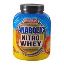 Matrix Nutrition Anabolic Nitro Whey, 2.2 lb Chocolate - $69.95