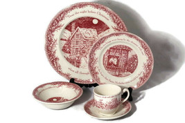 Johnson Brothers Twas The Night 5 Piece Place Setting Plate Cereal Bowl ... - $39.59