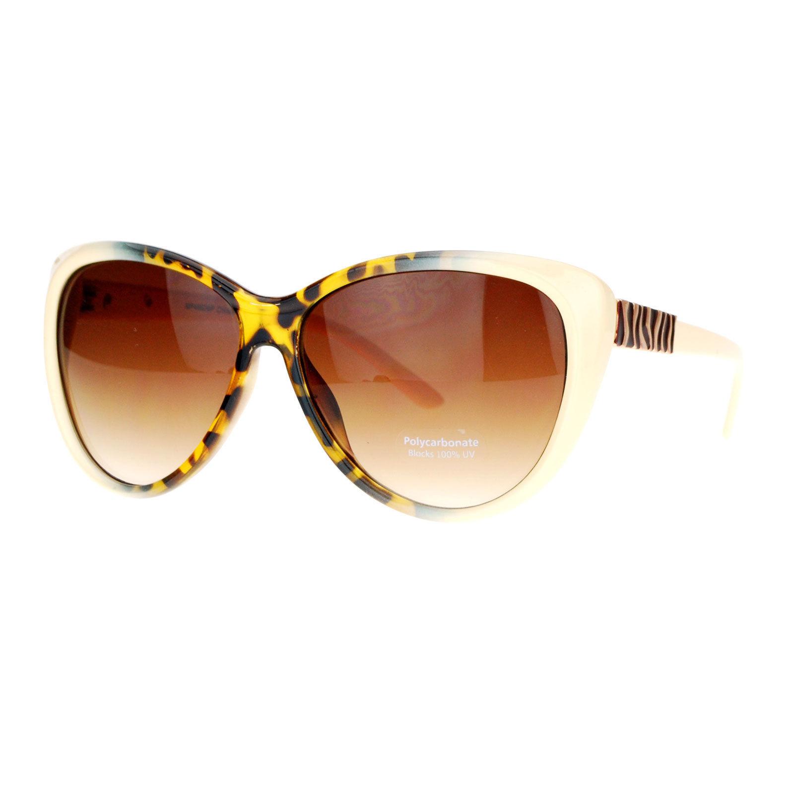 Womens Oversized Cateye Sunglasses Designer Fashion Eyewear UV Protection