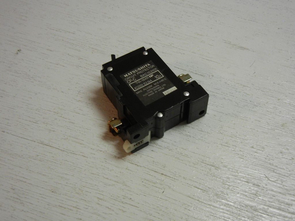Matsushita Cp C Bac102105 Circuit Protector And 50 Similar Items Details About Siemens 5sx21 C5 230 400v 5 Amp Breaker 10a M
