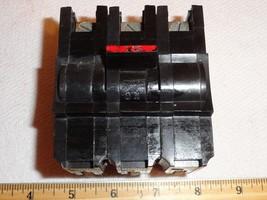 Federal Electric STAB-LOK 15 Amp 3 POLE 3P15 Circuit Breaker Switch stablok - $28.70