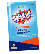 NEW Diversey Break-Up Professional Fryer Broil-Out 991209 Case / 36 Packs - $37.90