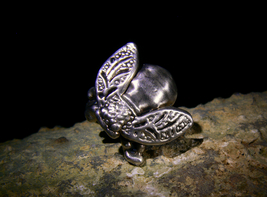 Himalayan Cloud Fairy Guardian Tantric Magick Silver Ring Izida Haunted No Djinn - $333.00