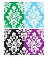 Damask Pattern Vectors Background -ClipArt-Digi... - $3.00