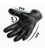 Outdoors Windproof Waterproof Leather Gloves for Women and Men Touch Scr... - $17.61