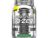 Muscletech platinum 100  iso zero  3 lb unflavoured thumb155 crop