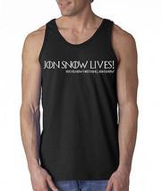 Jon Snow Lives! You Know Nothing Jon Snow Men's Tank Top Hodor Game Of T... - €6,94 EUR+