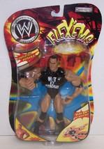 "2003 Jakk's Pacific Flex'ems ""The Rock"" Poseable Action Figure WWE [990] - $11.87"
