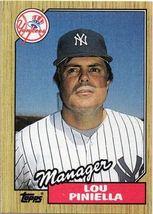 Lou Piniella 1987 Topps # 168 - $1.25