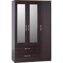 Morden3 DoorWardrobeStorageOrganizerClosetBedroom Furniture - $322.30