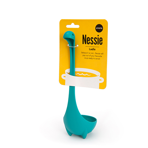 Nessie Kitchen Set x 3 Gifts Ladle Soop Funky Home Gifts Design Tools Gadgets