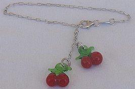 Cherry bracelet - $28.00