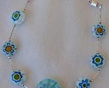 Light blue mornao flowers bracelet 3 thumb155 crop
