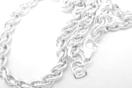 "Fine Silver Liquid Wheat 22"" Cable Chain Necklace - $68.00"