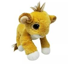 VINTAGE 1993 DISNEY MATTEL FLOPPY LION KING BABY SIMBA STUFFED ANIMAL PL... - $92.57
