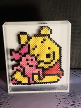 Winnie the Pooh and Piglet bead decoration - $10.00