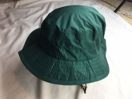 Vintage Columbia Sportswear Bucket Hat Made In The USA Green Size M - $15.88