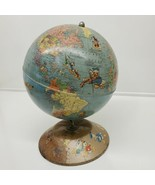 Vtg 1950 Rand McNally Walt Disney World Globe w/ Disney Characters *RARE... - $296.95