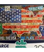 Buffalo Games Viaje The Eeuu Grande Formato 300 Piezas Puzzle Completo - $11.38