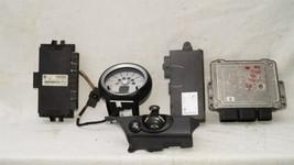 09 Mini Cooper R56 ECU ECM DME CAS3 Computer Ignition Switch Fob Tach SET - 6spd image 1