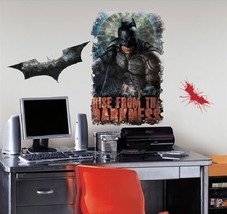Batman The Dark Knight Rises Darkness Giant Peel & Stick Wall Decal Applique NEW - $17.41
