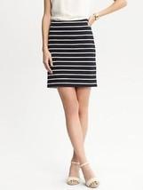 Banana Republic stripe ponte knit skirt , size 12, NWT - $50.00