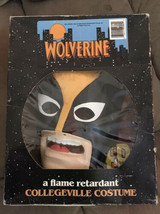 Wolverine Marvel Costume 1992 COLLEGEVILLE X-Men Tiny Tot  3-4 Years W/ Box - $116.39