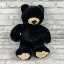 Build-A-Bear Workshop Plush Classic Black Teddy Bear Stuffed Animal 17 I... - $21.99