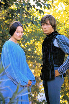 Olivia Hussey and Leonard Whiting in Romeo and Juliet Colorful Portrait ... - $23.99