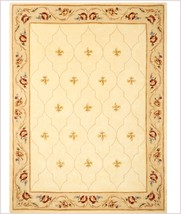 """NEW Royal Palace Special Edition 8'6"""" * 12.6' Fleur de Lis 100% Wool Are... - $400.00"""