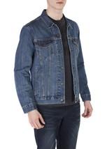 Levi's Men's Cotton Button Up Denim Jeans Trucker Jacket Shelf Blue 723340136 image 2