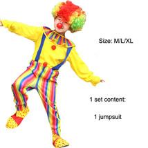 TPDT* ZA 009 Halloween Costumes Kids Children Funny Clown Costume Naught... - £33.99 GBP