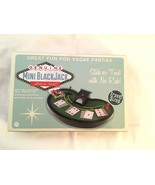 **Mini BLACK JACK Table Game Set  New in Box**— Great For Vegas Party Ni... - $6.78