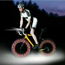 Protocol Tread Lightly BICYCLE VALVE LIGHTS Multicolored Screw into Valv... - $11.11