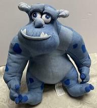 "Sulley~Disney Store Exclusive~School Cool~Pixar Monsters Inc~Denim 12"" Plush - $9.49"