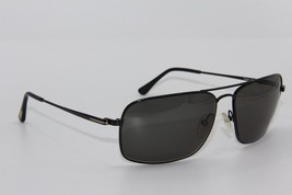 NEW TOM FORD TF 190 01N GREGOIRE BLACK SUNGLASSES AUTHENTIC 60-14 W/CASE - $214.12