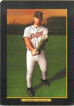 2006 Topps Turkey Red Black Basbeball Card #445 Travis Hafner Indians - $2.38