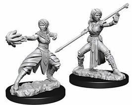 Nolzur's Marvelous Miniatures Wizkids - D&D Female Half-Elf Monk - WZK73839 - $6.68