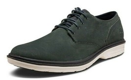 Timberland MENS Tim Berkshire Oxford Dress Business Shoes Grey Suede foam A1QZQ - $69.90
