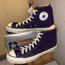 80S 80 S Silver Box Converse All Star Dead Purple Men 8.5US - $879.55