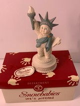"Department 56  Snowbabies  Let's Pretend  ""Little Liberty""  Figurine 20... - $23.99"