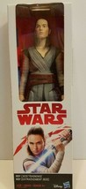 "~ Star Wars: The Last Jedi Rey (Jedi Training) Action Figure 12""~ New In... - $16.78"