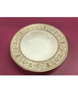 "Royal Doulton Sovereign English Fine Bone China 8"" rimmed soup bowl H.4973 - $49.45"